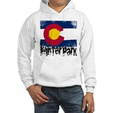 Winter Park Grunge Flag Hoodie