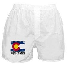 Winter Park Grunge Flag Boxer Shorts