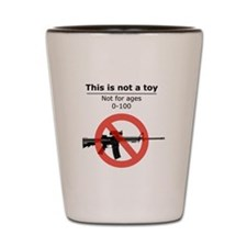 This is not a TOY Shot Glass