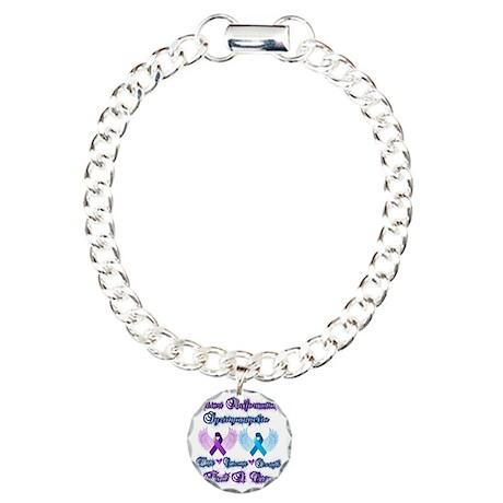 Chiari/Syringomyelia Charm Bracelet, One Charm
