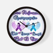 Chiari/Syringomyelia Wall Clock