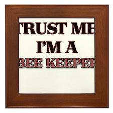 Trust Me, I'm a Bee Keeper Framed Tile