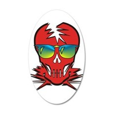 Dr. Dead Red Wall Decal