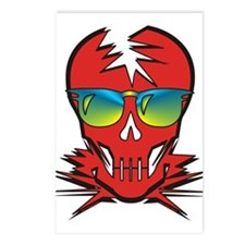 Dr. Dead Red Postcards (Package of 8)