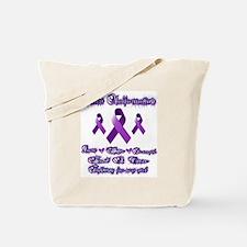 Fighting chiari for my Girl Tote Bag