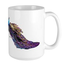 two peacocks Mug