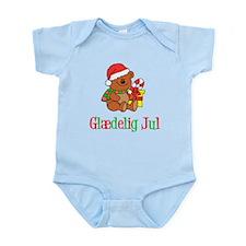 Glaedelig Jul Danish Child Body Suit
