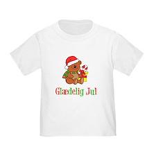 Glaedelig Jul Danish Child T-Shirt