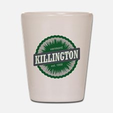 Killington Ski Resort Vermont Dark Green Shot Glas