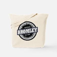 Bromley Mountain Ski Resort Vermont Black Tote Bag