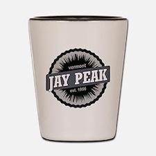 Jay Peak Ski Resort Vermont Black Shot Glass