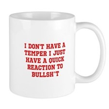Temper vs Bullsh*t Mugs