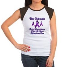 fighting chiari for my  Women's Cap Sleeve T-Shirt
