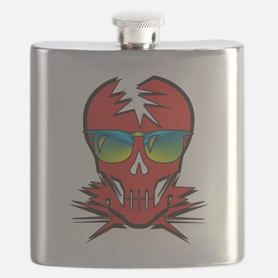 Dr. Dead Red Flask
