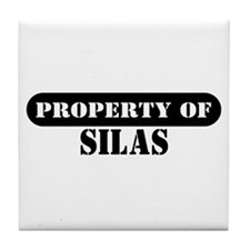 Property of Silas Tile Coaster