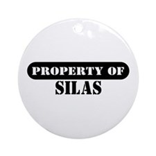 Property of Silas Ornament (Round)