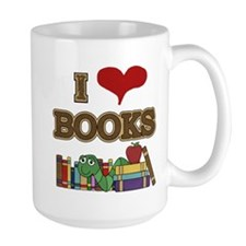 I Love Books Mug