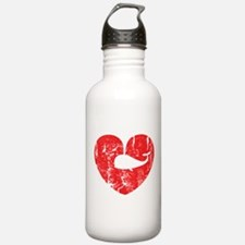 I love whales Water Bottle