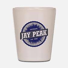 Jay Peak Ski Resort Vermont Navy Blue Shot Glass