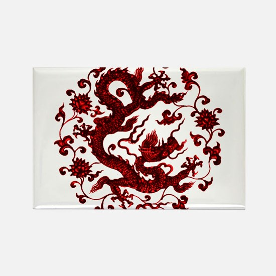 Chinese Red Dragon s Magnets