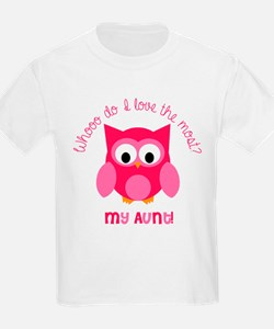 Who? My aunt! T-Shirt