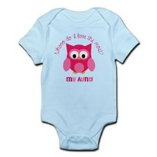 Who? My aunt! Infant Bodysuit