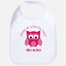 Who? My aunt! Bib