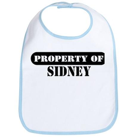 Property of Sidney Bib
