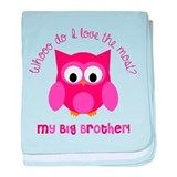 I love my big brother Blanket
