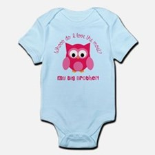 Who? My Big brother! Infant Bodysuit