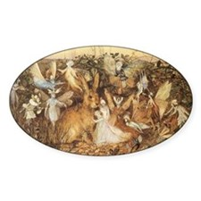 A Rabbit Among the Fairies by Fitzg Decal