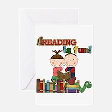Reading is Fun Greeting Card