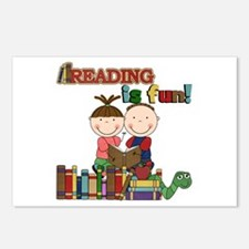 Reading is Fun Postcards (Package of 8)