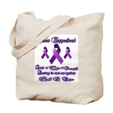 Zipperhead Chiari Awareness Tote Bag