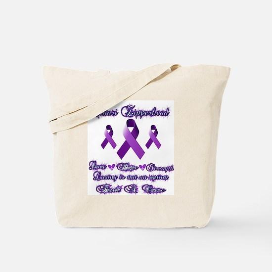 Zipperhead Chiari Awareness Tote Bag