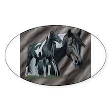 Pinto Horse Decal