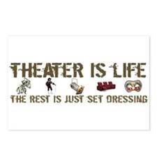 Theater is Life Postcards (Package of 8)