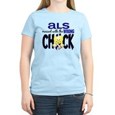 ALS Messed With Wrong Chick T-Shirt
