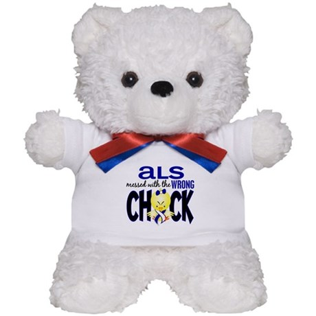 ALS Messed With Wrong Chick Teddy Bear