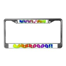 MERPUPS RULE! License Plate Frame