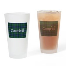 Tartan - Campbell Drinking Glass