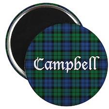 """Tartan - Campbell 2.25"""" Magnet (10 pack)"""
