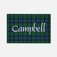 Tartan - Campbell Rectangle Magnet