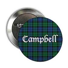 """Tartan - Campbell 2.25"""" Button"""