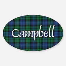 Tartan - Campbell Decal