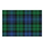 Tartan - Campbell Postcards (Package of 8)