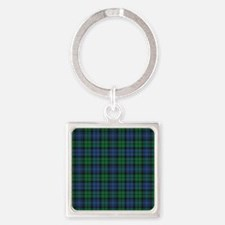 Tartan - Campbell Square Keychain