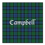 Tartan - Campbell Square Car Magnet 3