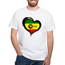 Afrika Rasta Heart I Shirt