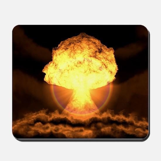 Drop the bomb Mousepad